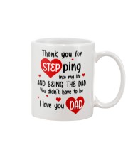 Dad Step Into Life Mug front