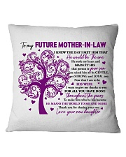 The World To Me Square Pillowcase front