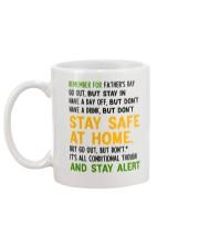 Stay Alert Uk Mug back