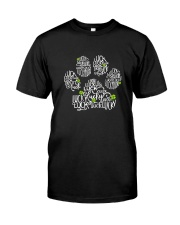 Dog Paw Lucky Charm Premium Fit Mens Tee thumbnail