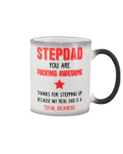 Awesome Stepdad Steps Up Color Changing Mug thumbnail