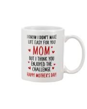 Mom Enjoy Challenge Mug front