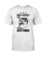 A Reel Expert Classic T-Shirt front