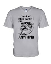 A Reel Expert V-Neck T-Shirt thumbnail