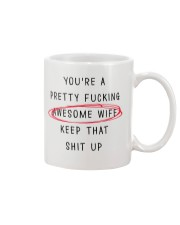 Pretty Awesome Wife Mug front