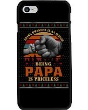 Papa Priceless Ugly Sweater Phone Case thumbnail