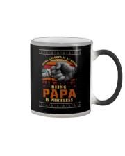 Papa Priceless Ugly Sweater Color Changing Mug thumbnail