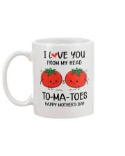 My Head To-ma-toes Mug back