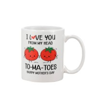 My Head To-ma-toes Mug tile