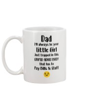 Dad Little Girl Mug back