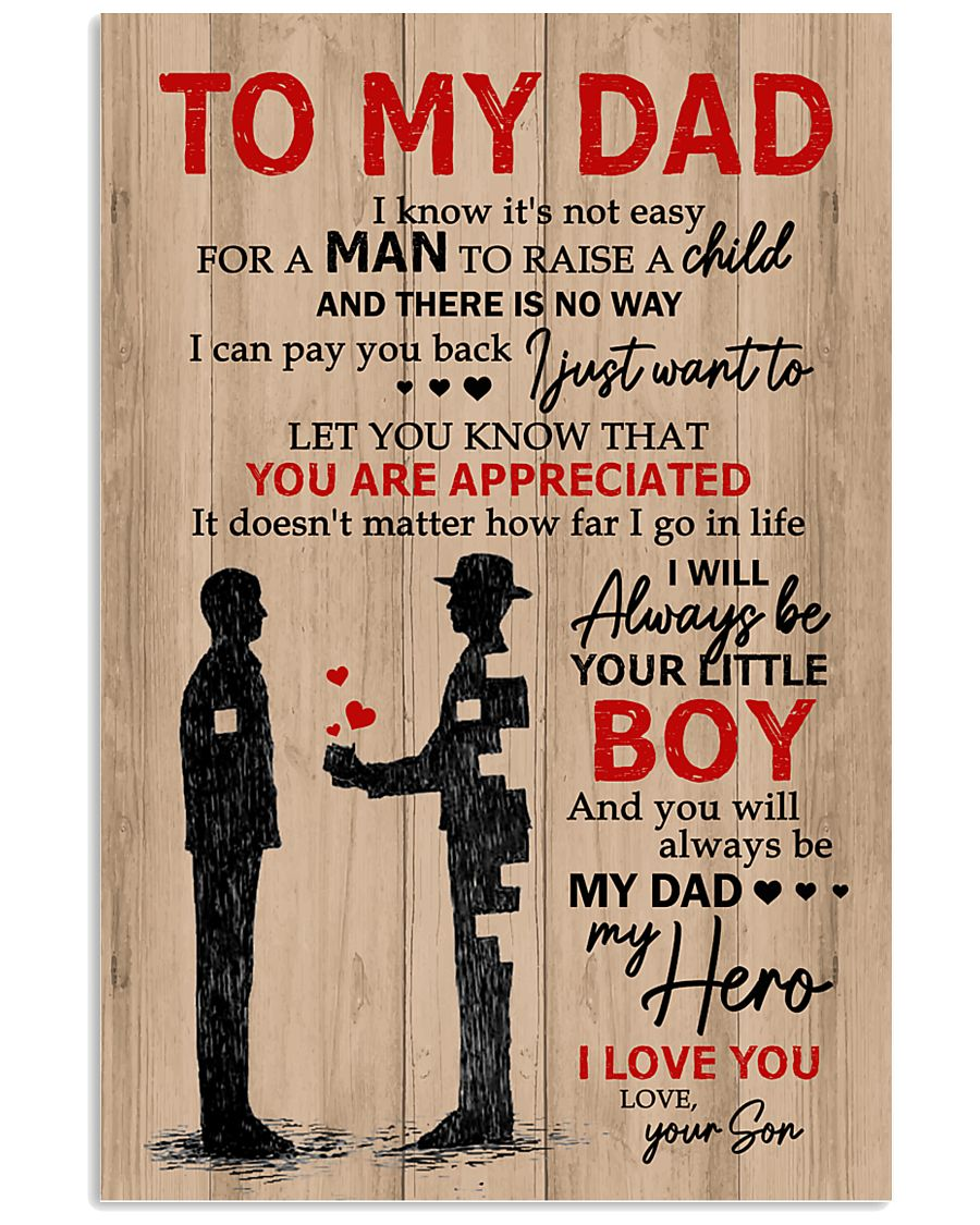 To My Dad My Hero 11x17 Poster