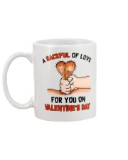 Sackful Love Valentine Mug back