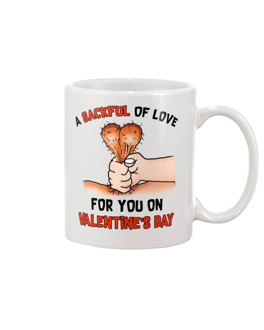 Sackful Love Valentine Mug