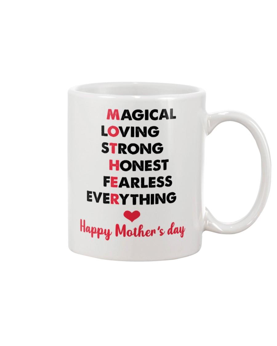 Mom Adjectives Mug