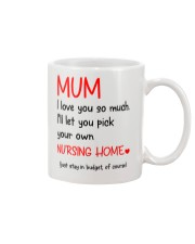 Mum Nursing Home Mug tile