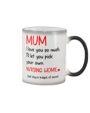 Mum Nursing Home Color Changing Mug thumbnail