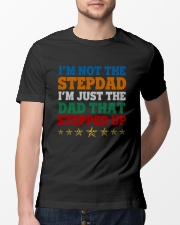 I'm Not The Stepdad Classic T-Shirt lifestyle-mens-crewneck-front-13