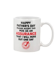 Assurance That I Will Move Out Mug front