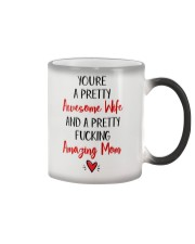 Pretty Awesome Wife Amazing Mom Color Changing Mug thumbnail