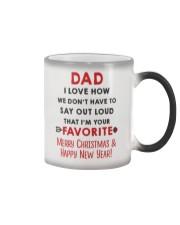 Dad Say Out Loud Xmas Color Changing Mug thumbnail