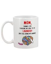 Teach Me Laundry Mug back