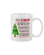 I love more Mug front