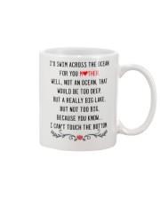 Mother across the ocean Mug front