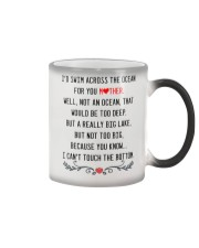 Mother across the ocean Color Changing Mug thumbnail