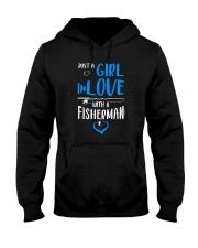 Girl In Love With A Fisherman  Hooded Sweatshirt thumbnail
