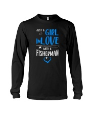 Girl In Love With A Fisherman  Long Sleeve Tee thumbnail