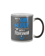 Girl In Love With A Fisherman  Color Changing Mug thumbnail