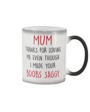 Your Boobs Saggy Color Changing Mug thumbnail