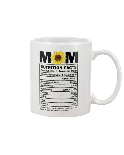 Mom Nutrition Facts