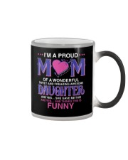 Proud Mom Of Sweet Awesome Daughter Color Changing Mug thumbnail
