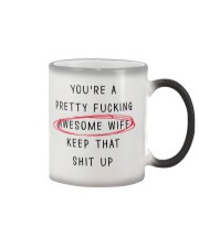 Pretty Awesome Wife Color Changing Mug thumbnail