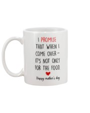 Come Over Not Only For Food Mug back