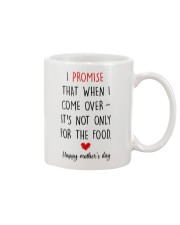 Come Over Not Only For Food Mug front