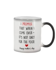 Come Over Not Only For Food Color Changing Mug tile