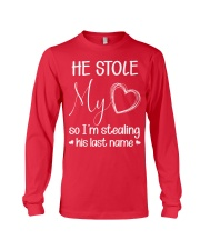 Steal Last Name Long Sleeve Tee front
