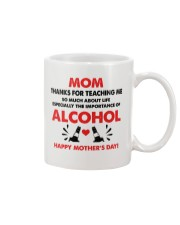 Importance Of Alcohol Mug front
