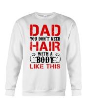 Don't Need Hair Crewneck Sweatshirt thumbnail