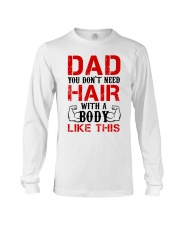 Don't Need Hair Long Sleeve Tee thumbnail