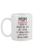 Mother's Day Gift Mug back