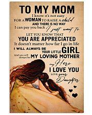 A Woman Raise A Child 11x17 Poster front