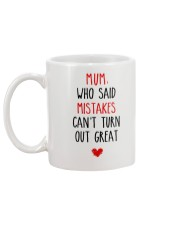 Mistakes Turn Out Great Mug back