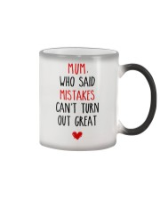 Mistakes Turn Out Great Color Changing Mug thumbnail