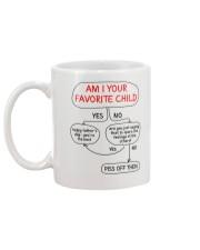 Am I Your Favorite Child Mug back