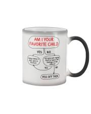 Am I Your Favorite Child Color Changing Mug thumbnail