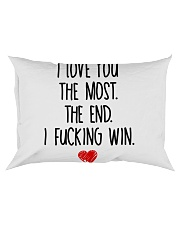Love You The Most The End Fucking Win Rectangular Pillowcase thumbnail
