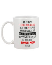 Not Flesh And Blood  Mug back
